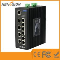 Buy cheap 8E + 2G Fiber Network Switch , 8 100M TX Ports + 2 100 / 1000M TX Ports from wholesalers
