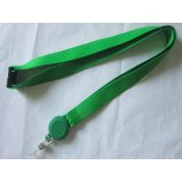 China Business Card Holder Polyester Custom Pull Reel Lanyard wholesale