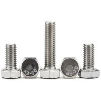China SS 316 A4 Flagne Galvanized Hex Bolts High Strength Full Thread Common Bolt Heads wholesale