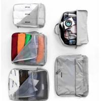 China V-Share Bag in bag 5 pieces set travel packing cube in Grey wholesale