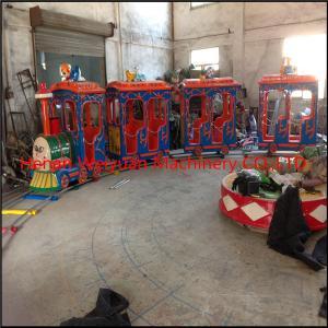 China New amusement children games mini thomas train with track on sale