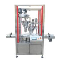China Machine packing Protein milk powder filling machine Factory Dual head automatic filling machine wholesale