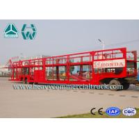 Customized Carbon Steel Car Carrier Semi Trailer To Carry Car 2 Axels
