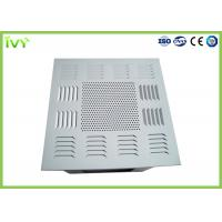 China Air Conditioning HEPA Filter Box ISO9001 Certificated With Smooth Diffuser Plate wholesale