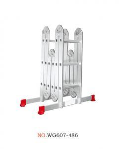 China Aluminum Alloy 6063 15.94ft Multi Purpose Ladder wholesale