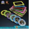 China 13.5g Rectangular Poker Chips / Gambling Table Plastic RFID UV Light Casino Poker Club VIP Chips wholesale