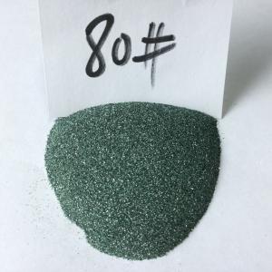 Refractory green Silicon Carbide/silicon carbide abrasive