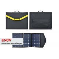 China Portable Solar Powered Battery Charger , Foldable Solar Panel Charger For Smartphones  on sale