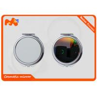China Pretty Sublimation Metal Plates / Art Personalized Compact Mirror Favors wholesale