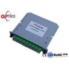 China High Performance 1x8 PLC Fiber Optic Splitter LGX Type SC Connector Outdoor GPON System wholesale