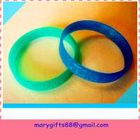 Quality best selling blank rubber silicone bracelet bangles wholesale