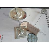 Designed Self Adhesive Insulation Hangers , Annular Groove Insulation Anchors