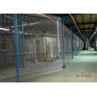 Buy cheap 3D Green Pvc Coated Welded 358 Security Wire Mesh Fence from wholesalers