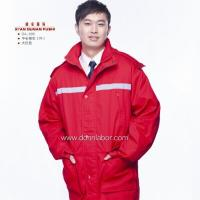 China CE Certificated 100% Cotton Material Winter Work Uniform wholesale