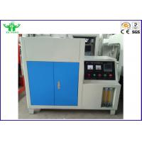 Buy cheap 4.5KW Flammability Testing Equipment 0.015~2.7w/M K Automatic Refractories from wholesalers