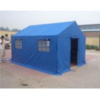 Buy cheap Civil Affairs Emergency Outdoor Canvas Tent / Military Wall Tent With PVC Fabric from wholesalers