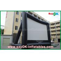 China Giant 10 mL x 7 mH Projection Cloth Inflatable TV Screen CE / SGS Certificate wholesale