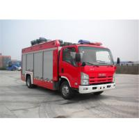 China ISUZU Chassis Light Fire Truck 4x2 Drive Type 6705×2200×3210mm Dimension wholesale