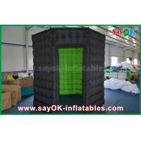 China White / Black Octagon Inflatable Photo Booth With Strong Wind Resistant 16 kg wholesale