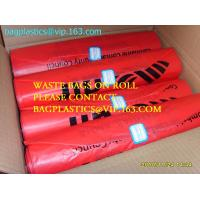 China Roll bags with serial number, Polythene bags serial numbered, Serialized Numbers & Barcode, Safe bags, security bags pac wholesale