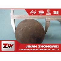 Quality 58-64 HRC Grinding Media Balls for metal mine , power station , cement plant wholesale