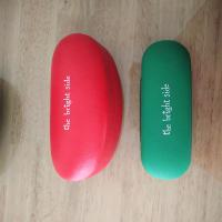 Matched printed glasses cases and sunglasses cases
