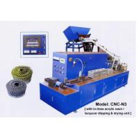 Quality High Capacity High Performance Wire Colloted Nail Machine Exported to Mexcio for sale