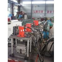 Buy cheap Galvanized Steel Door Frame Roll Forming Machine 20KW 415V 30 Stations With CE from wholesalers