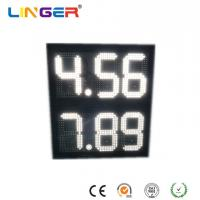 China 8.88 Format Led Gas Price Sign With 2 Rows , Led Fuel Price Sign Waterproof wholesale