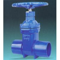 China CI Sluice Gate 225 mm Dia Spigot Valve With Extension Spindle 1.5m Length wholesale