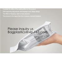 Aluminum Foil Medicine Weed Seeds Packaging bag with Zip Lock,Barrier Stand up