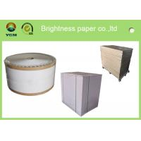 China High Stiffness Folding Box Board Sheets Clay Coated News Back Paper Double Side wholesale