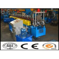 Quality PLC Control System U Purlin Roll Forming Machine For Ancient Architectures wholesale