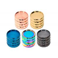 China Diamond Side 43mm Herb Grinder wholesale