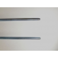China 3/8-16 Zinc Plated Carbon Steel 2M ASME Threaded Rod wholesale