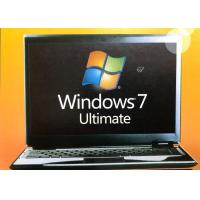 China 32/64 Bit Windows 7 Ultimate Retail Box Home Premium SP1 With Lifetime Warranty wholesale
