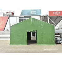 China 6x12M military marquee tent for outdoor field hospital, high end aluminum and PVC outdoor military marquee wholesale
