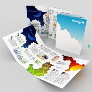 China 2015 Custom Folded Leaflet Print on sale