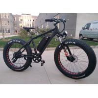 Buy cheap 48V 500w Geared Motor Cycling Electric Fat Bike High Torque , Wheel Size 26x4.0 from wholesalers