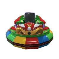 China Custom Made Amusement Park Bumper Cars For Children Play Single Player on sale
