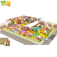 China Adventure Park Children Playground Equipment Indoor Baby Soft Play Area wholesale