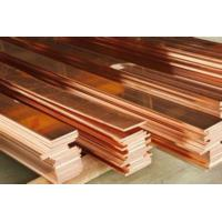 China High Purity Copper Flat Plate Sheet Thickness 0.2mm-30mm Corrosion Resistance wholesale