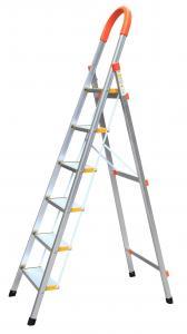 China Aluminum Alloy 6063 1.92m 6 Step Aluminium Ladder wholesale