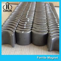 China Industrial Ferrite Arc Magnet For PMSM Motor ROHS SGS ISO9001 Certification wholesale
