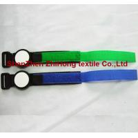 China High quality colorful one-piece sew on nylon fabric watch band straps wholesale