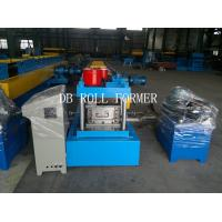 China C Purlin Roll Forming Machine With Gcr15 Bearing Steel 12 Groups Rollers for Store Fixture wholesale