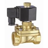 China 2 Inch Semi Direct Acting Brass Water Solenoid Valve Normally Open 24VDC wholesale