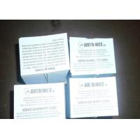 China Two Sided Package Insert Printing Paper Leaflet Folding For Pharma Box on sale