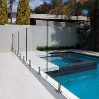 China Tempered Swimming Pool Glass Fence / Glass Railing / Glass Balustrade wholesale