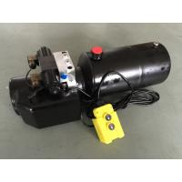 Buy cheap DC 12V 1.6KW  Work Pressure 18Mpa with Round Steel Tank Mini Hydraulic Power Packs for Fork-lifts from wholesalers